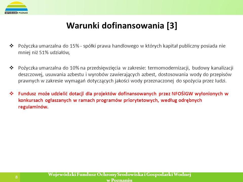 Warunki dofinansowania [3]